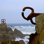 """Mirando al horizonte: """"El Peine de los Vientos"""" (Eduardo Chillida)"""