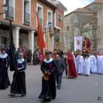 Jueves Santo: La Procesión del Santo Cristo, en Dueñas