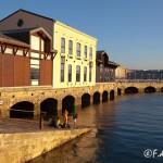 Atardecer en el  Puerto Deportivo de Gijón