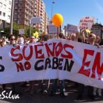 """""""Toma la calle"""" (los asturianos se manifiestan en apoyo al Movimiento 15M)"""