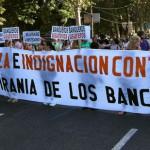 El espíritu del 15M se hace patente el 15-O (Fotos de Francisco López)