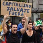 Gijón sale a la calle en protesta por los recortes, y no se olvida de los mineros
