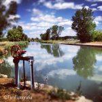 Dueñas: El canal de Castilla y Tierra de Campos