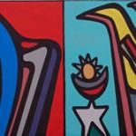 Semana Negra 2012: El mural que Mono González regaló a Gijón