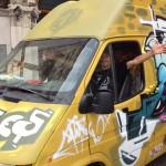 AsociARTE en el arranque de la XXI Fiesta de la Sidra de Gijón