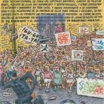 """15S: """"la cosa se pone calentita"""" (carta de Inés Illán Calderón a sus amigos de la juventud)"""