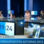 Los presupuestos del Principado de Asturias, en @Debateen30, un programa de la TPA presentado por @mariablancoas