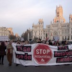 """Manifestación en Madrid de """"STOP DESAHUCIOS"""" (fotos de Francisco Lopez)"""