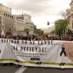 """Nueva """"Marea Blanca"""" en contra de la privatización de la sanidad pública"""