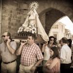 Procesión de la Virgen de Onecha (Dueñas)